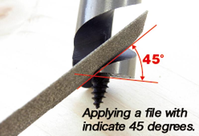 Re-polishing method and precautions 1