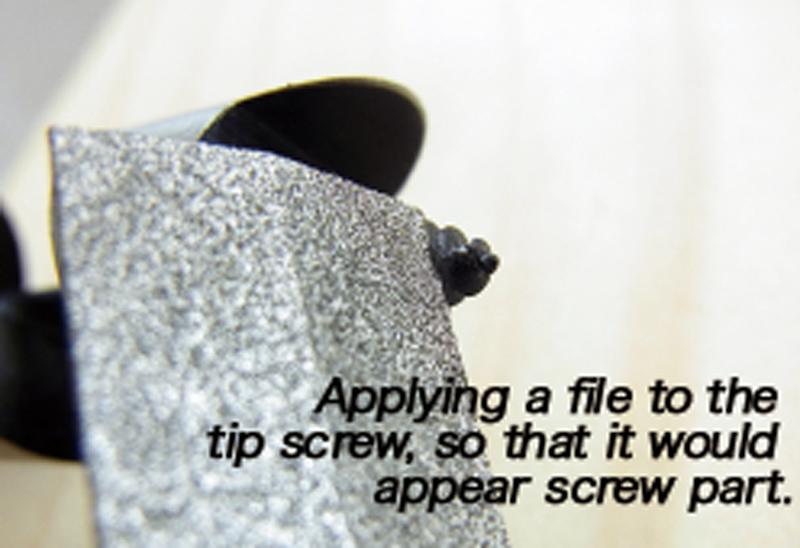 Re-polishing method and precautions 4